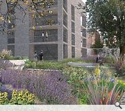 All flats will benefit from a common garden court