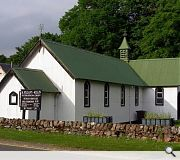 The 'Grouse Chapel' was once frequented by shooting parties praying for a successful hunt