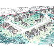 A further 54 homes are to be builtin two phases around a central watercourse