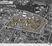 Early goals include establishing a river park and boosting the city centre population to 40,000 by 2035