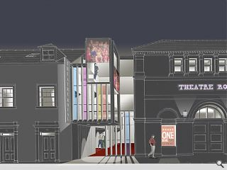 Dumfries Theatre Royal extension secures planning