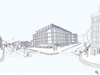 Public consultation gets underway for Aberdeen student flats plan