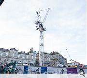 One of the largest cranes in Europe will be used to deliver the mammoth scheme