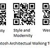 QR codes bring Mackintosh to your mobile