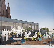A rooftop balcony will offer close-up views of the Archibald Simpson designed steeple