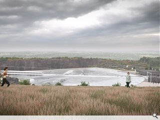 Plans filed to transform disused Ratho quarry into wave park