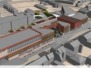 Architecture graduate single-handedly redraws Denny town centre