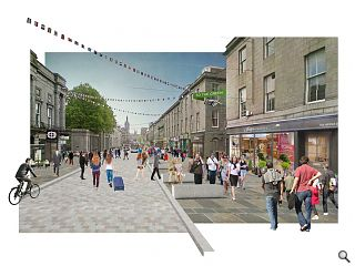 Aberdeen city centre masterplan launched