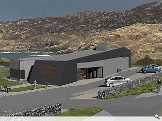 Scourie assumes the mantle of geology hub with seafront visitor attraction