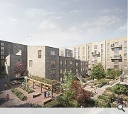 A mix of apartments and colony-style homes will be built