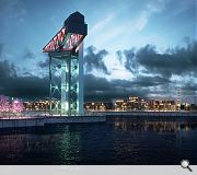 The energy centre will sit at the heart of a revitalised waterfront