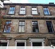 Dangerous and failing window jambs will be repaired at this B-listed tenement