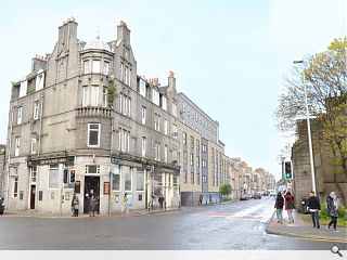 Aberdeen student flats go in for planning