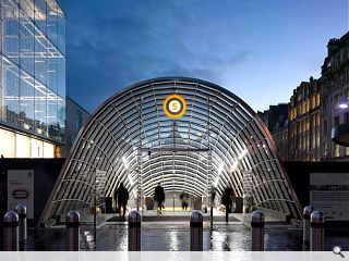 St Enoch station canopy heralds arrival of revamped subway network