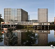 City of Glasgow College, Riverside Campus, Glasgow, Michael Laird Architects/Reiach and Hall Architects (£66m)