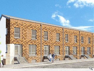 Ayr townhouses boost affordable homes drive