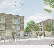Keppie's Inverness scheme will be clad in treated larch