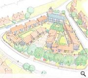 redevelopment plans will see a series of homes constructed in the cathedrals grounds