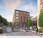 In 2019 PLATFORM_ obtained planning consent for a 498-home tower at Central Quay, Glasgow, which has yet to break ground