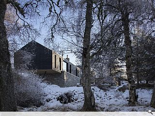 Cantilevered extension elevates Cairngorms living to new heights