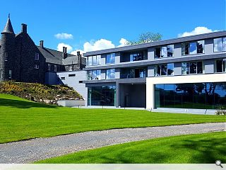 Lippe Architects mark completion of £4.5m Meldrum House Hotel extension