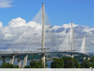 Queensferry Crossing officially unveiled