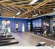 On-site fitness suites will be contained in both builds