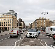 Lothian Road as it exists at present