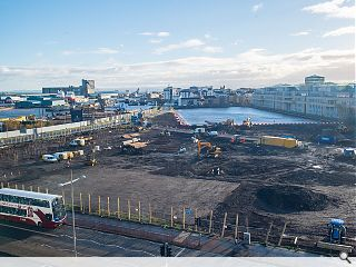 388 Leith Docks homes break ground at Ocean Terminal