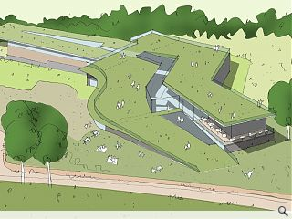 Work begins on UK's first Whin grassland roof