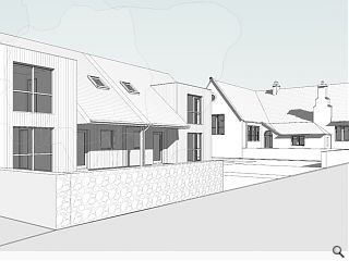 New homes on the way for former Inverness school