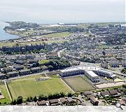 Burntisland is the bigger of the two