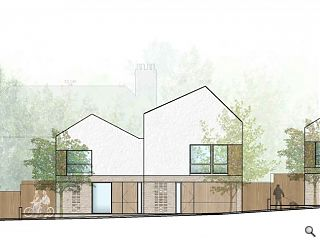 LBA lodge plans for Duddingston homes