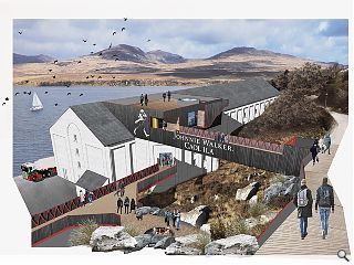 Islay distillery plays its part in Johnnie Walker tourism drive