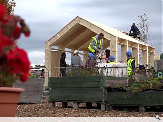 Edinburgh community group unveil Fountainbridge 'Wikihouse'