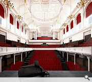 Capacity of the main hall will be increased to 1,200 for a standing gig
