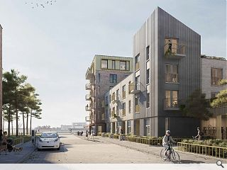 Revised Western Harbour masterplan prioritises mid-market rent homes