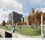 ERZ will oversee landscaping work to integrate the development within the existing community