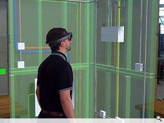 University of Strathclyde demonstrate augmented and virtual reality construction tool