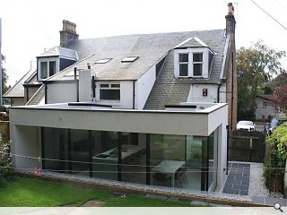 Ailteir-Studio deliver Bearsden home extension
