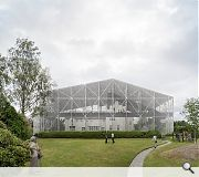 As an added bonus the structure will allow visitors to experience Hill house in ways never before possible