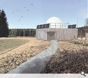 The observatory is intended for staff use only, with any public lectures or events hosted by Mugdock Park itself
