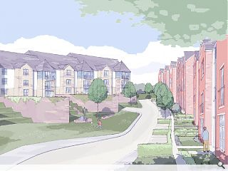 Stewart Milne propose 77 infill homes for Cathcart