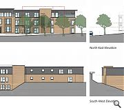 The three-storey replacement will respect the existing building line