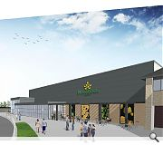 A new supermarket will adjoin the centre, serviced from the rear