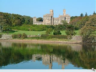 Lews Castle wins big on the lottery