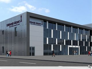 Topping out ceremony held at Edinburgh Airport extension