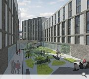 Occupants will have access to a shared courtyard space
