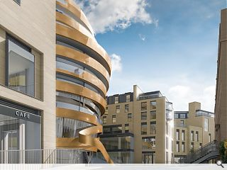 Change of use alterations proposed for Edinburgh's James Craig Walk