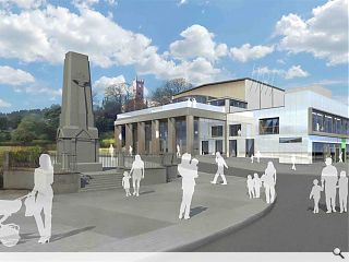 Dunoon's Queens Hall readied for summer reveal
